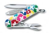 VICTORINOX瑞士刀-Classic SD 58mm-VX彩色