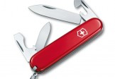 VICTORINOX瑞士刀-Recruit 84mm-紅色 (VIX-RECRUIT-0.2503)